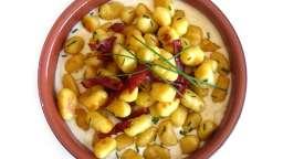 Gnocchis maison au chorizo et au parmesan