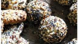 Biscuits au tahini et graines