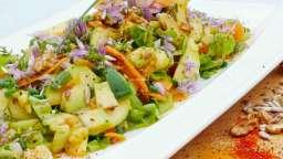 Ma salade «vitalité» aux 2 textures : fondante et croquante