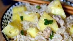 Riz frit au porc et à l'ananas, de Ken Hom