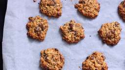 Cookies à l'avoine, beurre de cacahuète et chocolat noir