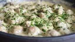 Boulettes suédoises et purée de pommes de terre