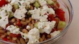 Salade aux haricots blancs