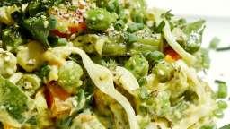 7 légumes sauce tahiné