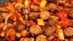 Saucisses et Poivrons poêlés d'Anthony Bourdain