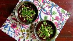 Chrianteli, soupe aux cerises géorgienne