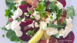 Salade de betterave au raifort