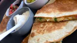 Quesadillas aux fromages