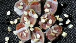 Figues au jambon sec