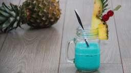 Cocktail le Blue Hawaiian