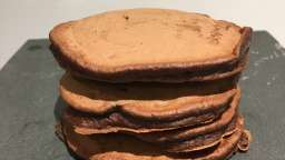 Pancakes choco banane