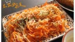 Salade sauce chinoise