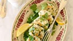 Croquettes de poisson asiatiques