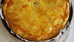 Tourte auvergnate aux pommes de terre