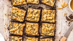 Brownies au chocolat et caramel beurre salé