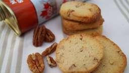 Sablés aux noix de pécan et au sirop d'érable