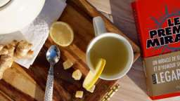 Tisane revigorante gingembre citron miel