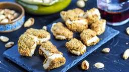 Bouchées de poulet en croûte de pistaches