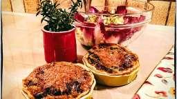 Mini quiches aux poireaux et aneth frais