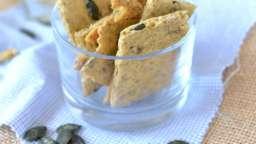 Biscuits apéritifs aux graines