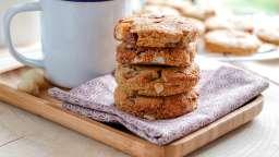 Sablé sans gluten noix de macadamia et chocolat