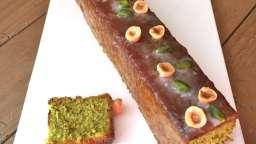 Cake pistaches et noisettes de Christophe Felder