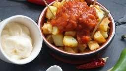 Patatas bravas et aioli - tapas