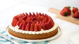 Tarte aux fraises facile et rapide