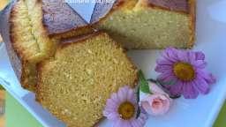 Cake aux fruits de la passion et à la noix de coco
