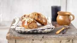 Petits pains briochés tourbillon
