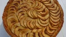 Tarte aux pommes et à la compote