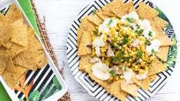 Tortillas au maïs et sauce au fromage