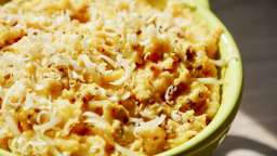 Purée épicée de patates douces et pommes de terre à l'ail