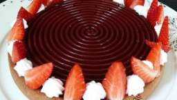 Tarte Tourbillon de fraise