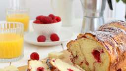 Brioche framboise - chocolat blanc