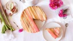La recette de la tarte à la rhubarbe de Philippe Conticini