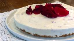 Cheesecake à la rose