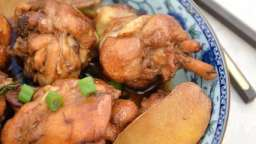 Poulet à l'huile de sésame