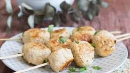 Boulettes poulet au citron et basilic