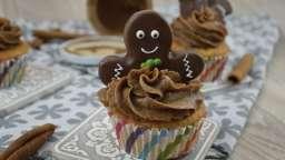 Mes cupcakes à la pâte à tartiner aux épices