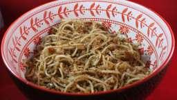 Spaghetti au pain