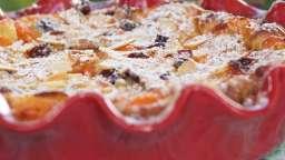 Clafoutis abricots et cranberry