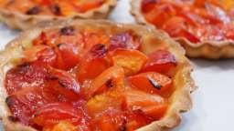 Tartelette d'été aux abricots