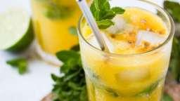Mojito à la mangue et aux fruits de la passion