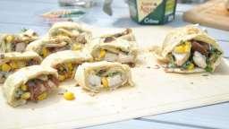 Wrap poulet Saint Agur