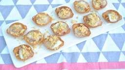 Tartelettes mozzarella lardons