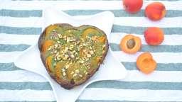 Tarte abricots pistaches