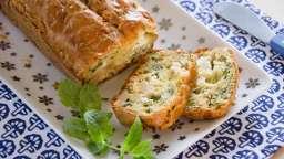 Cake fromage frais et menthe