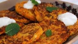 Galettes de carottes et courgette