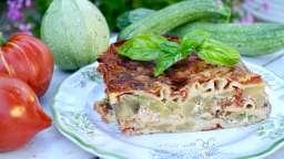 Lasagne aux courgettes et aubergines - Nath' Chocolat